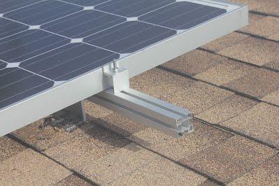 End of solar Rail Z Clip